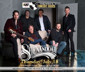 Shenandoah Featuring Marty Raybon With Special Guests Tris Munsick & The Innocents