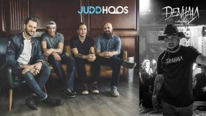 Judd Hoos with Denham